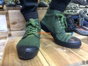 giày quân nhu