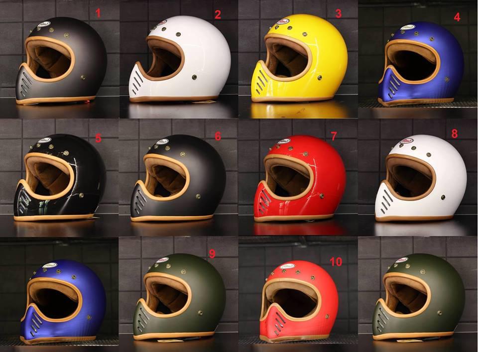 mũ bảo hiểm raw fullface