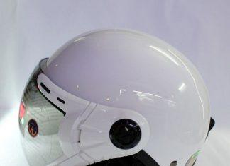 mũ bảo hiểm grs có kính