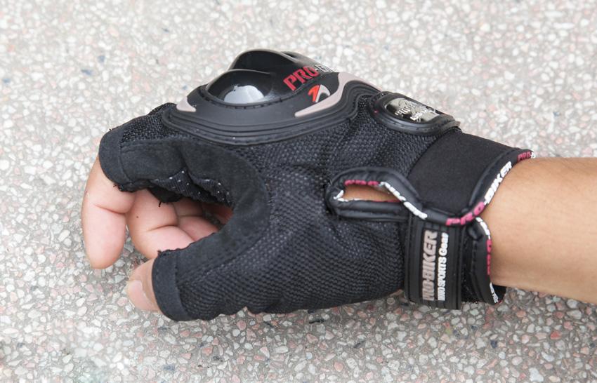 Găng tay Pro biker cụt ngón